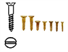 CS Brass Screws