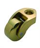 Bed Castor - Brass Wheel
