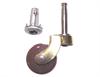 Castor Brown Pin/Socket