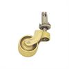 Castor Brass Pin/Socket