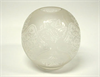 Large Etched Ball Shade