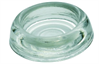 Glass Castor Cup Clear