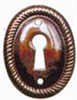 Stamped Escutcheon