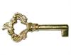 Fancy Brass Key