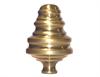 "Brass Bed Knob (1-1/4"" Post)"