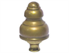 "Brass Bed Knob (1-1/2"" Post)"