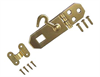 Solid Brass Laquered Hasp