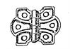 Ornamental Flush Hinge