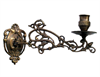 Brass Piano Sconce