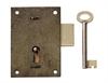 """Steel Cupboard Lock 4"""""""