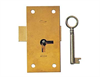 Straight Cupboard Lock 3""