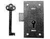 Cupboard Lock 1 lever
