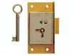 "2.1/2"" Rebate Cupbrd Lock RH"