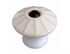 White Porcelain Knob