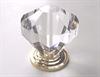 Acrylic Diamond Cut Knob