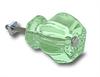 "Glass Knob Coke Green 1"""