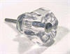 "Glass Knob Ice Blue 1-1/4"""