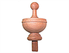Cedar Turned Finial
