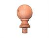 Cedar Ball Finial