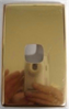 Switch Cover Anodised Brass