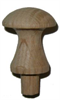 Shaker Knob - Oak