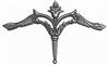 Cast Brass Motif